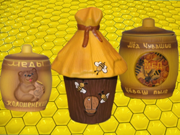 Сувенирные горшочки под мед