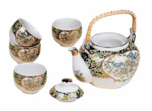 "набор чайный ""Грация"", чайник+4 пиалы"