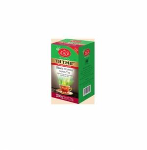 Королевский + Рухуна, смесь черного и зеленого чая, 200 гр