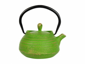 "чугун, ""Хайнань"", с ситом, зеленый, 400 мл"