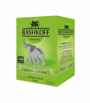Bashkoff, 100 гр, зелёный, Pekoe