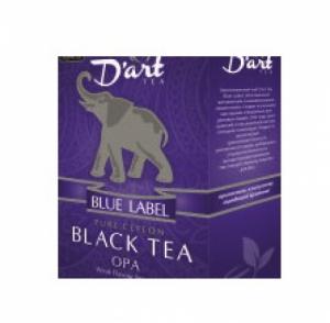 D art TEA, черный, крупный лист, OPA, 100 гр